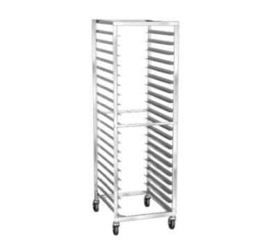 "Lakeside 139 21""W 20-Sheet Pan Rack w/ 3"" Bottom Load Slides"