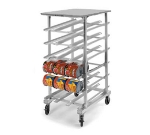 "Lakeside 335 77.25""H Mobile Can Rack w/ (162) #10 or (216) #5 Capacity"