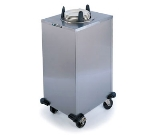 "Lakeside 6107 240 Mobile Heated Cabinet Dish Dispenser for 7.25"" Dish, 240 V"