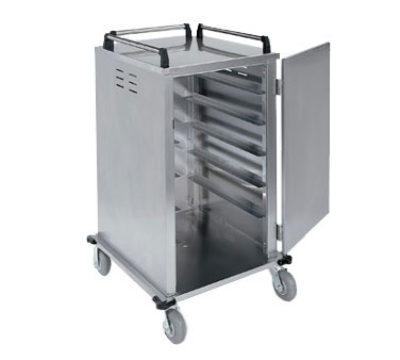 "Lakeside 5510 Tray Delivery Cart w/ Removable Door, Up To (12) 15 x 20"" Trays"
