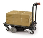 Lakeside 8165 Battery Operated Platform Truck w/ Solid State, 27x41-in, 1500-lb