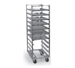 "Lakeside 8522 63"" Roll-In Cooler Rack w/ Angle Ledge, 18-Trays, Aluminum"
