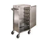 Lakeside 854 Tray Delivery Cart w/ Removable Door, For (6) 16 x 22-in Trays