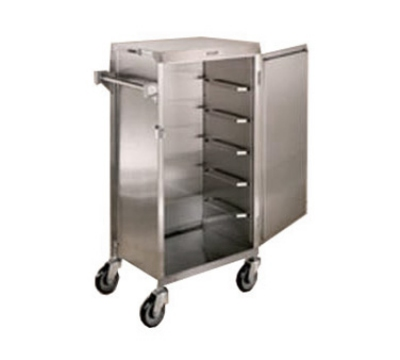 854 Tray Delivery Cart w/ Removable Door, For (6) 16 x 22-in Trays
