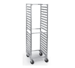 "Lakeside 8559 69"" Roll-In Cooler Rack w/ Channel Ledge, 38-Trays, Aluminum"