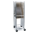 "Lakeside 8568 20.5""W 12-Sheet Pan Rack w/ 5"" Bottom Load Slides"