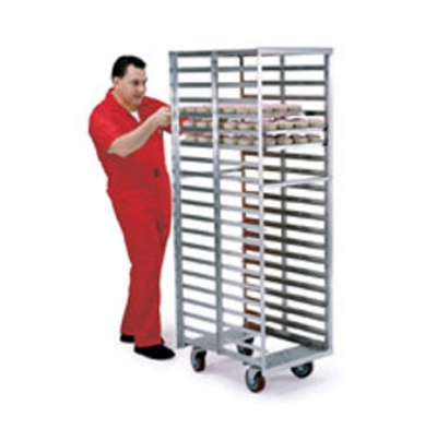 Lakeside 8900 End Load Roll-In Cooler Rack w/ Angle Ledge, (20) 18 x 26""