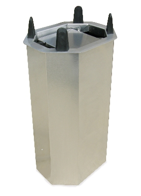 "Lakeside V5014 Shielded Oval Drop-In Dish Dispenser for Up To 10.75 x 14.5"" Platter"