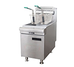Adcraft CTF-75/NG Countertop Gas Fryer - (1) 50-lb Vat, NG