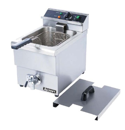 Adcraft DF-12L Countertop Electric Fryer - (1) 25-lb Vat, 208v/1ph