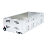 "Adcraft FW-1500W Countertop 4/3-Food Warmer w/ Base Only & 6.5"" Deep Well, Stainless"