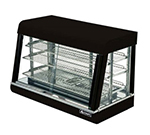 Adcraft HD-36 Countertop Heated Display Case w/ Front & Rear Sliding Doors, 35.5x20.5x24""