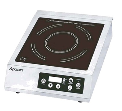 Adcraft IND-B120V Countertop Commercial Induction Cooktop, 120v