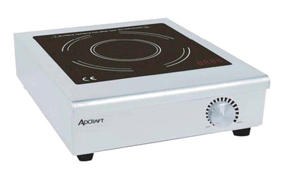 Adcraft IND-C120V Countertop Commercial Induction Cooktop w/ (1) Burner, 120v