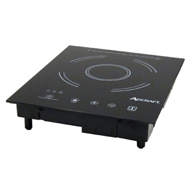 Adcraft IND-D120V Drop-In Commercial Induction Cooktop w/ (1) Burner, 120v