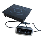 Adcraft IND-DR120V Drop-In Commercial Induction Cooktop w/ (1) Burner, 120v