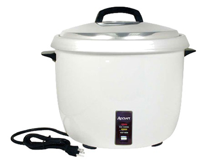 Adcraft RC-0030 Rice Cooker w/ 30-Cup Capacity & Cook/Hold Feature