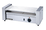 Adcraft RG-05 12 Hot Dog Roller Grill - Flat Top, 120v