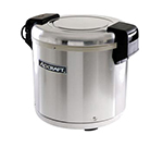 Adcraft RW-E50 Rice Warmer w/ 50-Cup Capacity & Removable Inner Pot, Stainless
