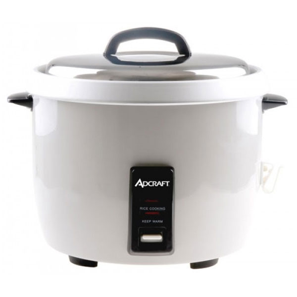 Adcraft RC-E30 Rice Cooker w/ 30-Cup Capacity & Oversized...