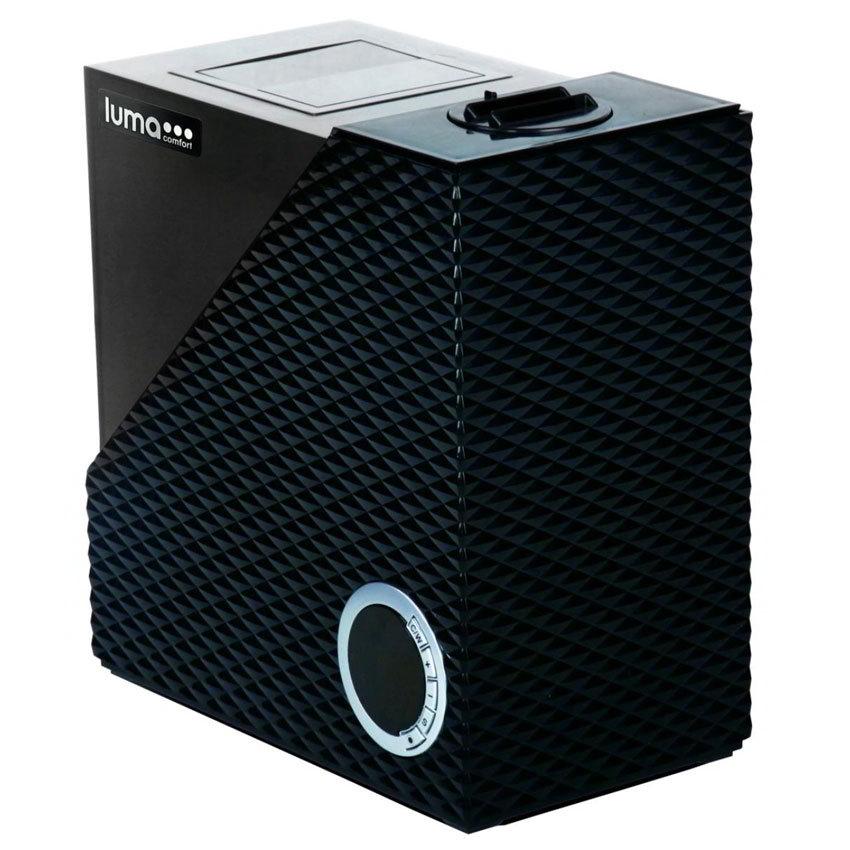 Luma Comfort HCW10B Cool Warm Mist Humidifier w/ 1.9-gal Output, Digital LED, Black
