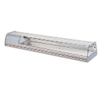 Kool-It DC7SR 84-1/3-in Refrigerated Sushi Display, Right Side Compressor, Silver