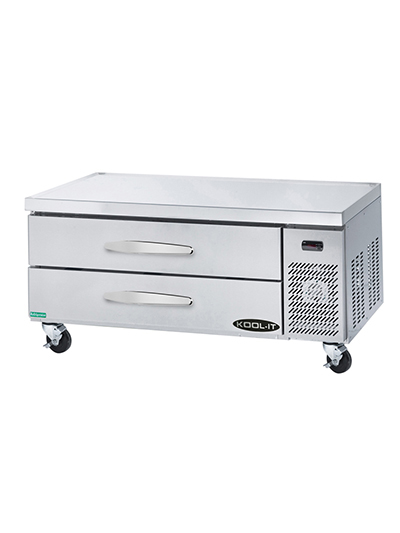 "Kool-It KCB-53-2 53"" Chef Base w/ (2) Drawers - 115v"