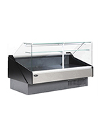 "Kool-It KFM-40R 41"" Full Service Deli Case w/ Curved Glass - (1) Levels, 115v"