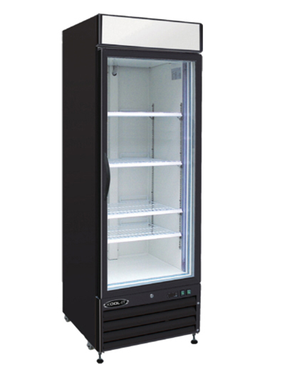 "Kool-It KGM-23 28"" One-Section Refrigerated Display w/ Swing Door, Bottom Mount Compressor, 115v"