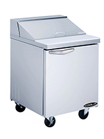 "Kool-It KST-27-1 27"" Sandwich/Salad Prep Table w/ Refrigerated Base, 115v"