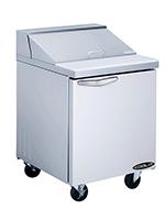 "Kool-it KST-27-1 27"" Sandwich/Salad Prep Table w/ Refrigerated Base, 115v"