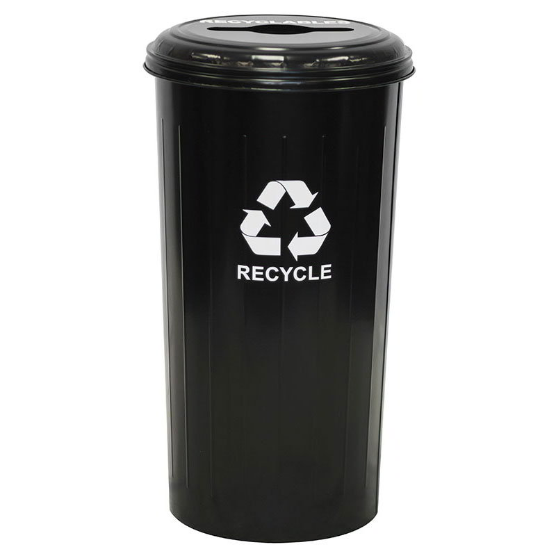 Witt 10/1CTBK 20-gal Multiple Materials Recycle Bin - Ind...