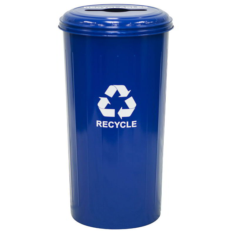 Witt 10/1CTDB 20-gal Multiple Materials Recycle Bin - Indoor, Decorative