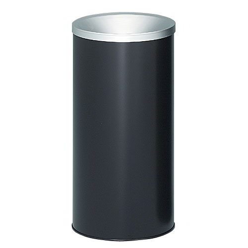 "Witt 2000BK Indoor & Outdoor Standard Ash Urn, 10 x 20"", Black Finish"