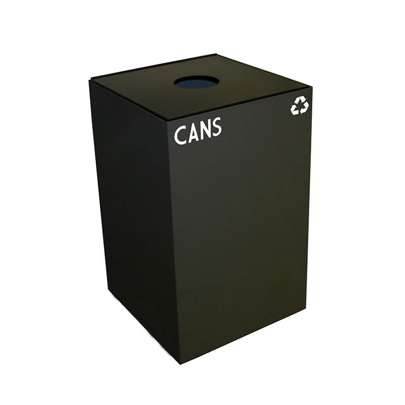 Witt 24GC01-CB 24-gal Cans Recycle Bin - Indoor, Fire Resistant
