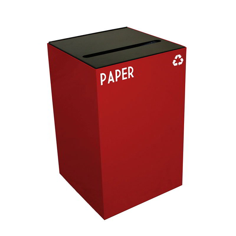 Witt 24GC02-SC 24-gal Paper Recycle Bin - Indoor, Fire Resistant