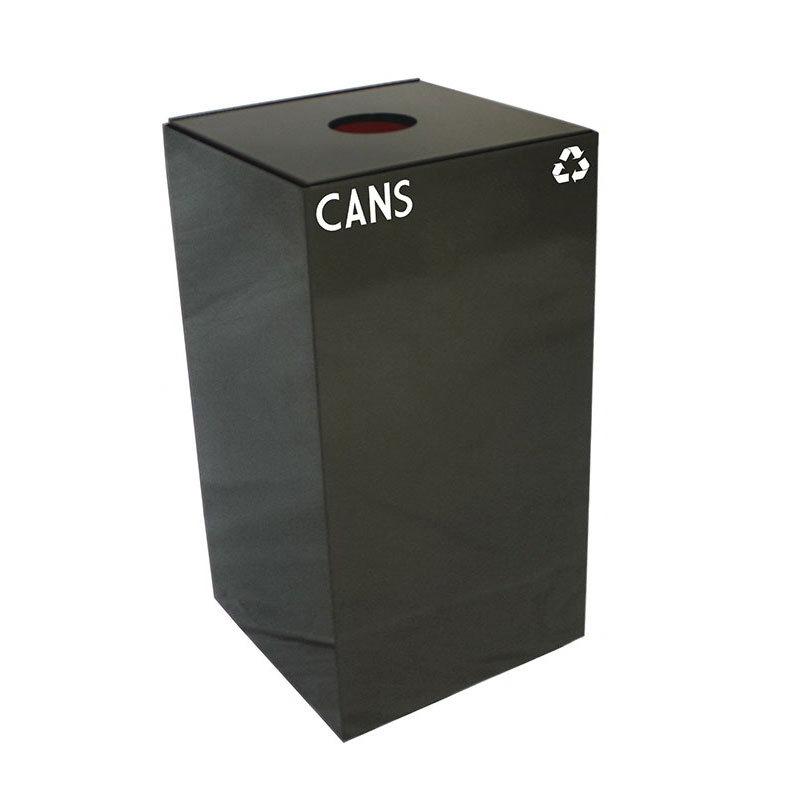 Witt 28GC01-CB 28-gal Cans Recycle Bin - Indoor, Fire Resistant