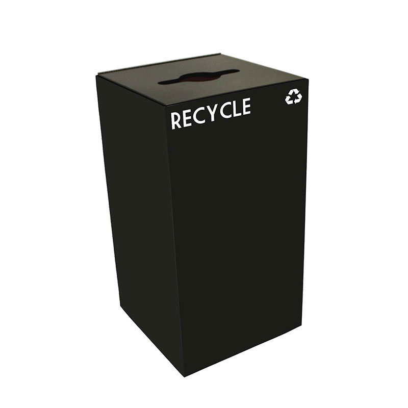 Witt 28GC04-CB 28-gal Multiple Materials Recycle Bin - In...