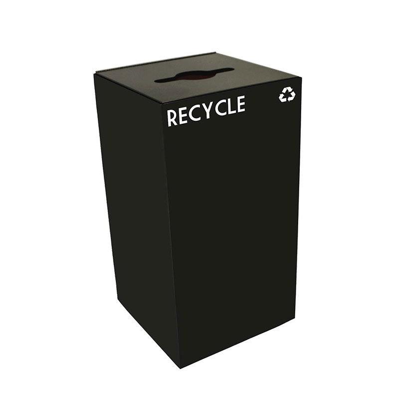 Witt 28GC04-CB 28-gal Multiple Materials Recycle Bin - Indoor, Fire Resistant