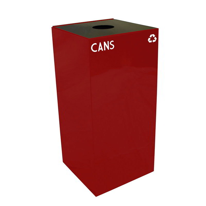 Witt 32GC01-SC 32-gal Cans Recycle Bin - Indoor, Fire Resistant