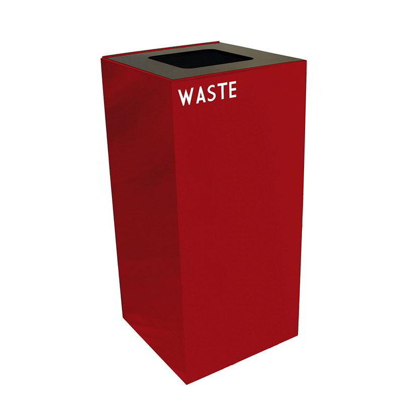 Witt 32GC03-SC 32-gal Multiple Materials Recycle Bin - Indoor, Fire Resistant