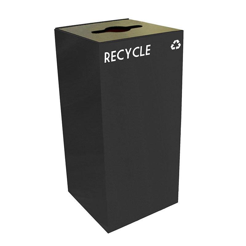 Witt 32GC04-CB 32-gal Multiple Materials Recycle Bin - Indoor, Fire Resistant