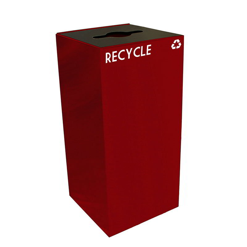 Witt 32GC04-SC 32-gal Multiple Materials Recycle Bin - Indoor, Fire Resistant