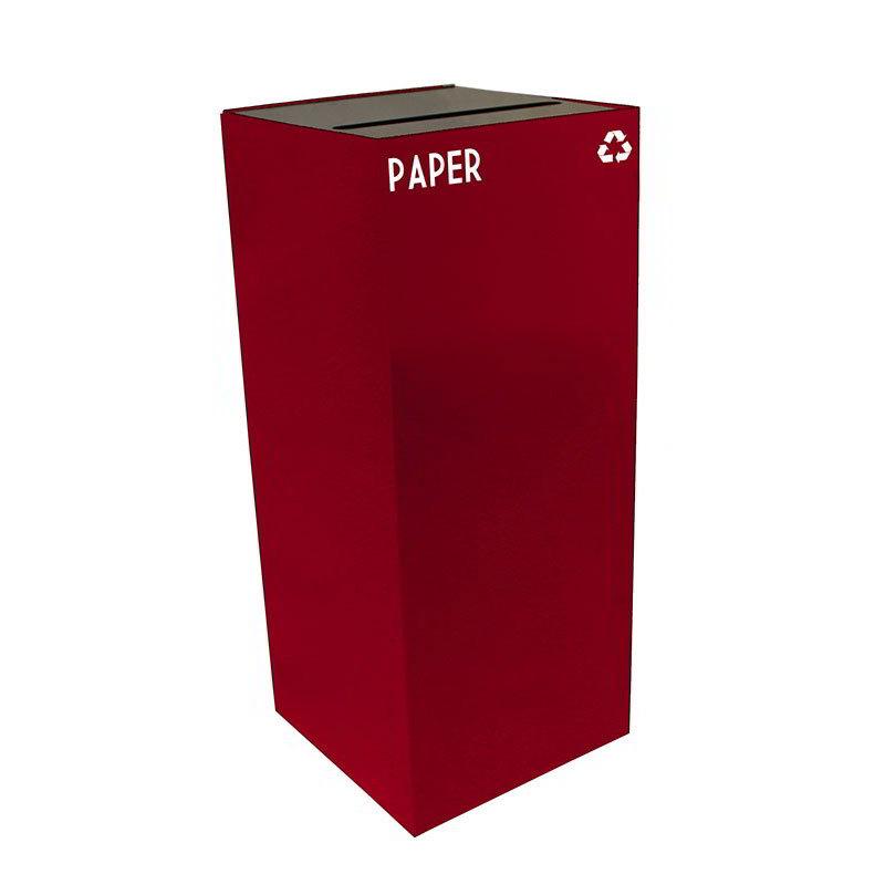 Witt 36GC02-SC 36-gal Paper Recycle Bin - Indoor, Fire Resistant