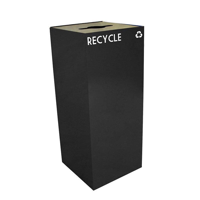 Witt 36GC04-CB 36-gal Multiple Materials Recycle Bin - Indoor, Fire Resistant