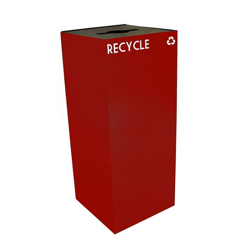 Witt 36GC04-SC 36-gal Multiple Materials Recycle Bin - Indoor, Fire Resistant