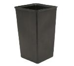 Witt Industries 13R Indoor Trash Can Rigid Liner w/ 13-Gallon Capacity, Black Plastic