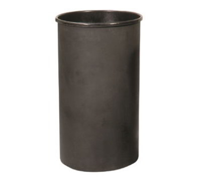 Witt Industries 35LBK Outdoor Trash Can Liner w/ 35-Gallon Capacity, Black Plastic