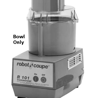 Robot Coupe 102702 2.5-qt Bowl for R100 & R101, Gray