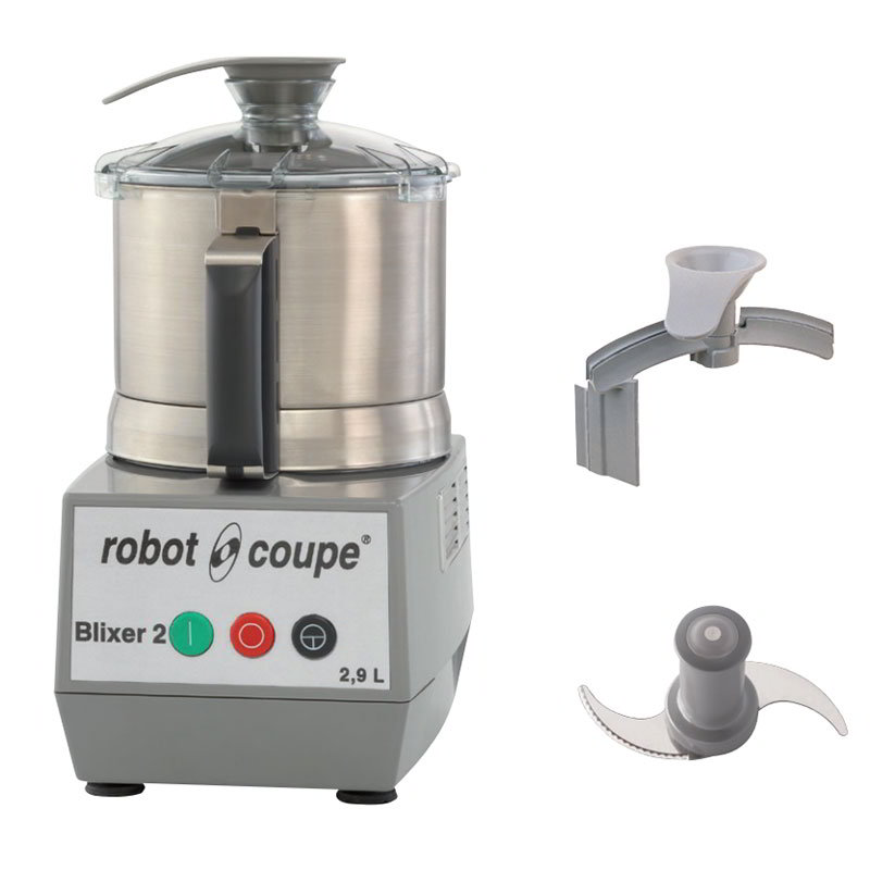 Robot Coupe BLIXER2 Vertical Commercial Blender Mixer w/ 2.5-qt Capacity & 1-Speed